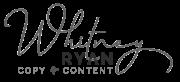 Whitney Ryan logo